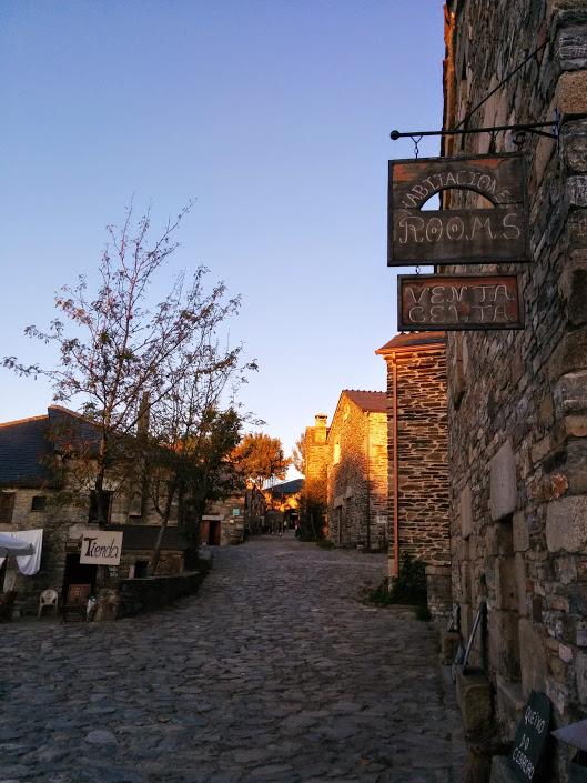 O'Cebriero, mountain village in Galicia