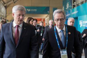 Joe Oliver & PM in Australia at G-20, PMO photo
