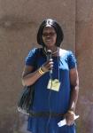 Aurelia Acor, a refugee who has sponsored 29 others. Dennis Gruending photo