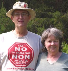 Dallas, Susan McQuarrie non-violent resistance in NB