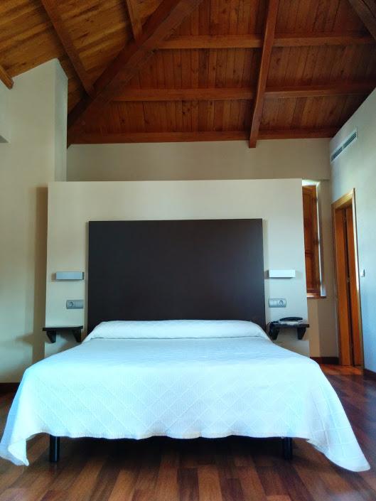 Hotel El Palacio in Molinaseca, we luck out