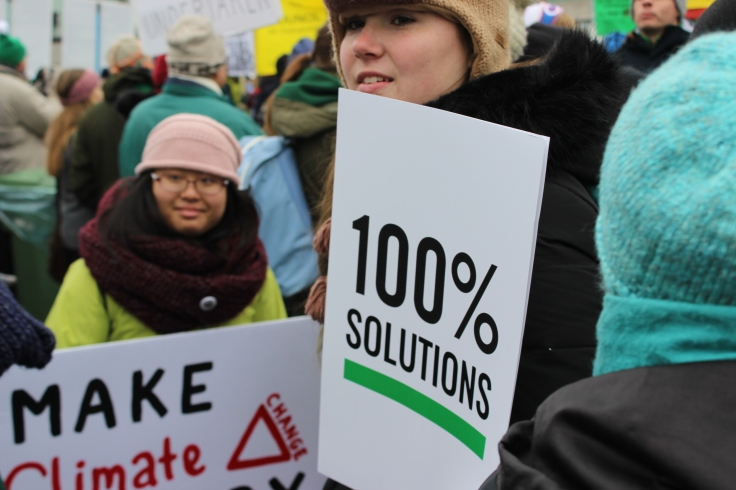 25,000 participated in the 100% Possible March in Ottawa on Nov. 29, 2015.