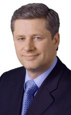 Stephen Harper, gov't of Canada photo