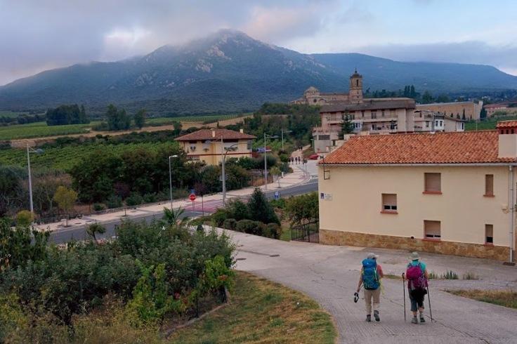 Mount Monjardin in Navarre's vineyard region