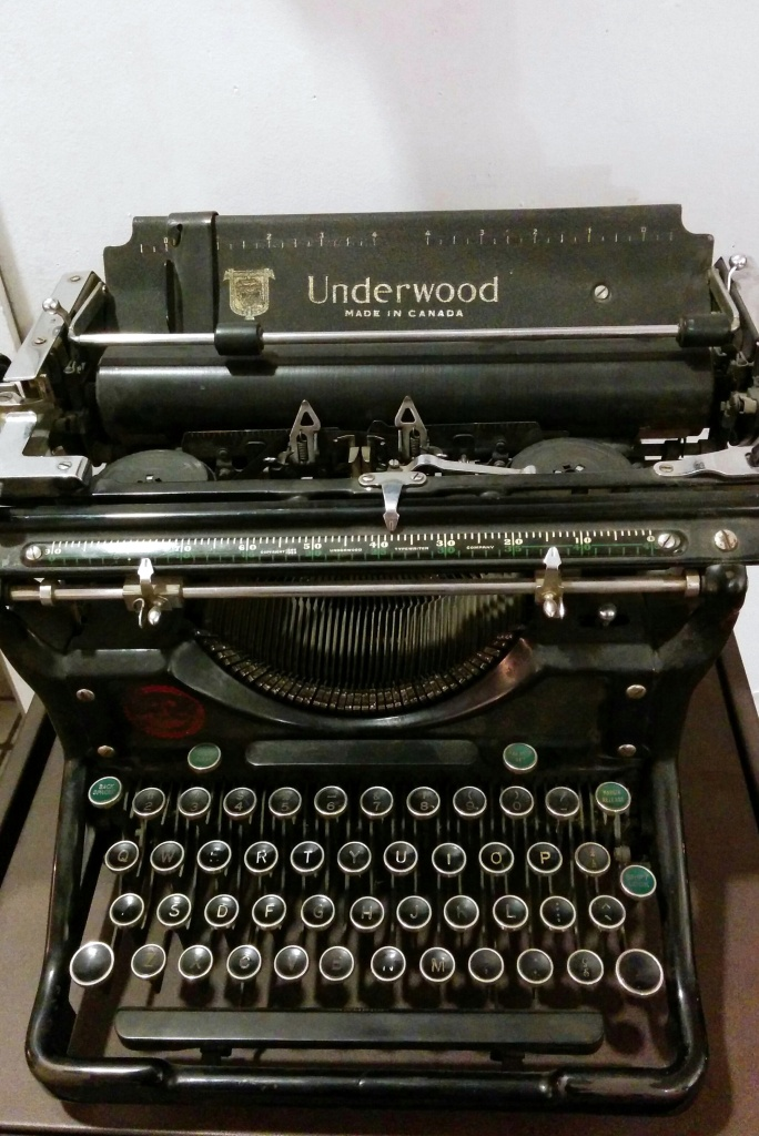 Lessons for life: A nun teaches me to type on an old Underwood
