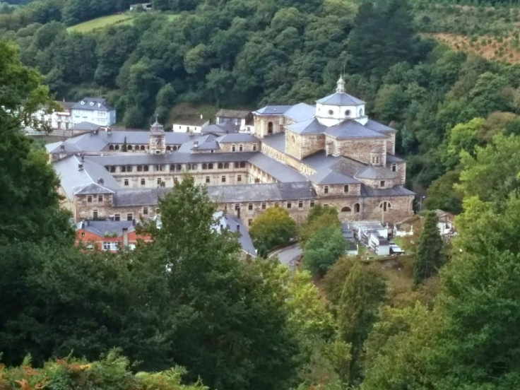 Benedictine monastery at Samos, Spain