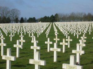 Canadian war graves at Vimy, France