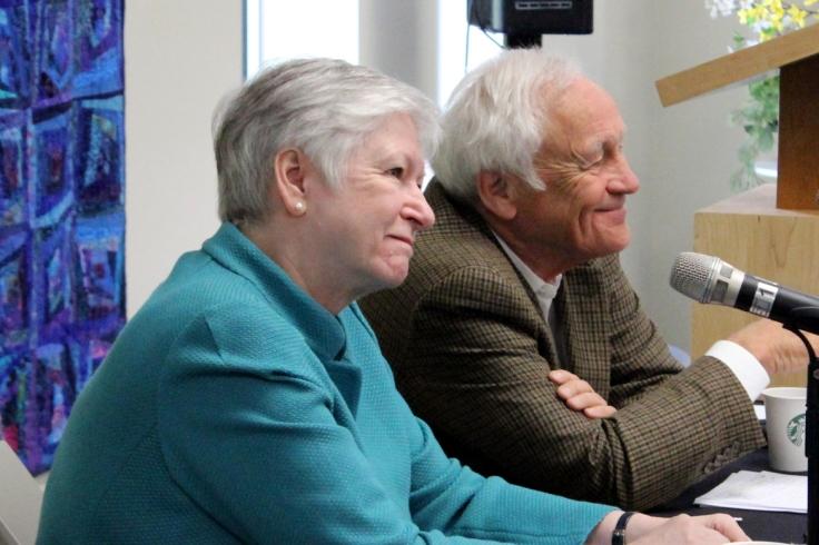Sheila Fraser and Richard Van Loon