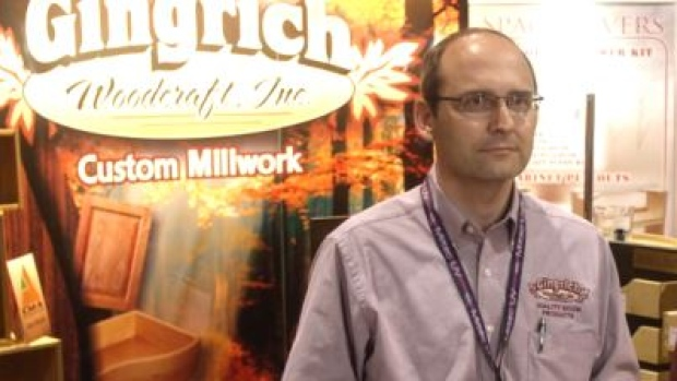 Leon Gingrich closes furniture plant (Vimeo/Woodworking Network)