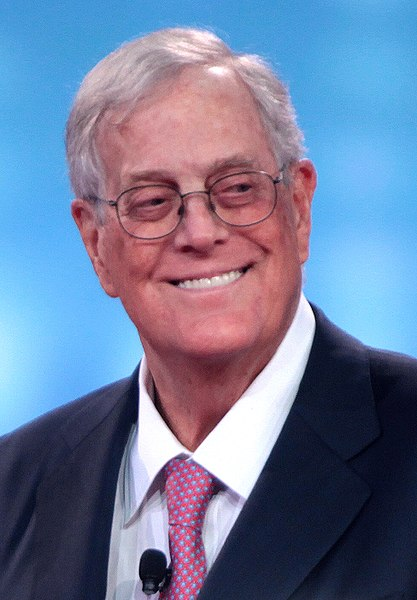 US Koch brothers finance Canada's right wing.