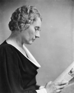 MP Agnes Macphail was an agrarian populist from Ontario.