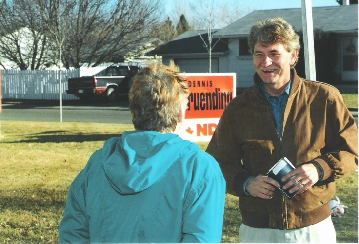 Dennis Gruending ran in four federal election campaigns as an NDP candidate and served as an MP in the 36th Parliament